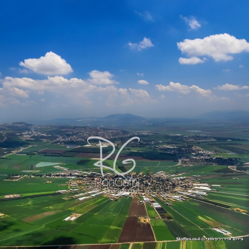 Moshav Nahalal in the Jezreel Valley