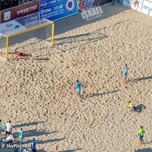 Beach FootBall, Poleg Beach, Netanya