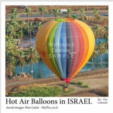 Calendar - Hot Air Balloons